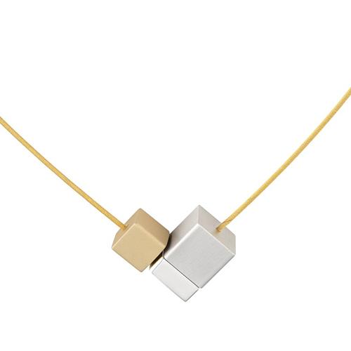 Luxe relatiegeschenken van Artihove - Geschenk Clic, hanger alu mat goud - CLCM001019 kopen van Artihove |  - CLCM001019
