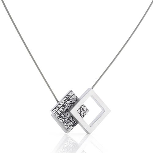 Luxe relatiegeschenken van Artihove - Geschenk Clic, hanger blauw, zwart gestreept - CLCM001020 kopen van Artihove |  - CLCM001020