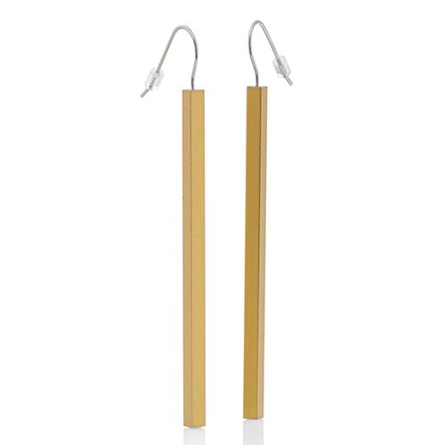 Luxe relatiegeschenken van Artihove - Geschenk Clic, oorhangers gold staaf - CLCM001022 kopen van Artihove | Kerst - CLCM001022
