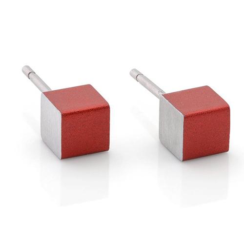 Luxe relatiegeschenken van Artihove - Geschenk Clic, oorstekers rood - CLCM001024 kopen van Artihove |  - CLCM001024