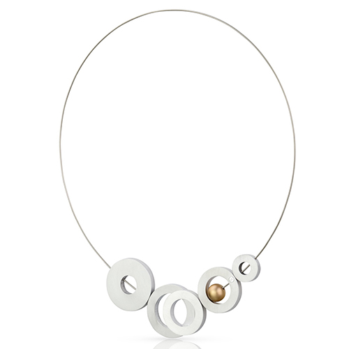 Luxe relatiegeschenken van Artihove - Geschenk Clic, hanger alu/goudkl - CLC001028 kopen van Artihove |  - CLC001028