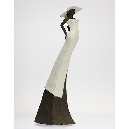Luxe relatiegeschenken van Artihove - Sculptuur Straatman, bruid senja - EST001010 kopen in de Artihove sculpturen shop - EST001010