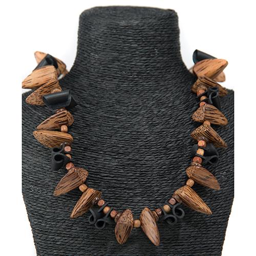 Luxe relatiegeschenken van Artihove - Geschenk Tjon a ten, ketting bruin/zwart - EVIM000011 kopen van Artihove |  - EVIM000011