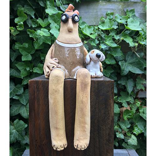 Luxe relatiegeschenken van Artihove - Geschenk Van tongeren, man met hond - GVT000018 kopen van Artihove |  - GVT000018