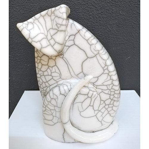 Luxe relatiegeschenken van Artihove - Geschenk Bloks, poes - HENM000801 kopen van Artihove | Keramische sculpturen - HENM000801