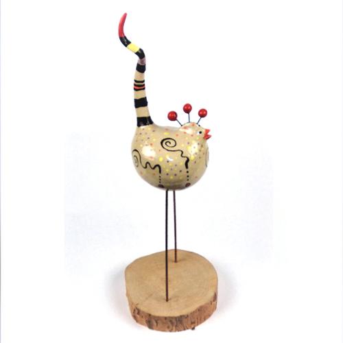Luxe relatiegeschenken van Artihove - Geschenk Scholten, geluksvogel rood - ILSM000029 kopen van Artihove | Keramische sculpturen - ILSM000029