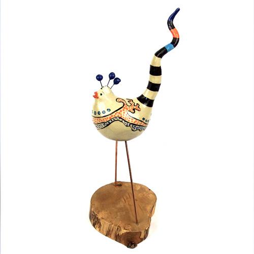 Luxe relatiegeschenken van Artihove - Geschenk Scholten, geluksvogel blauw - ILSM000030 kopen van Artihove | Keramische sculpturen - ILSM000030