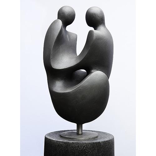 Luxe relatiegeschenken van Artihove - Geschenk Klap, omhelzing - KLAM500450 kopen van Artihove | Alle tuinbeelden - KLAM500450