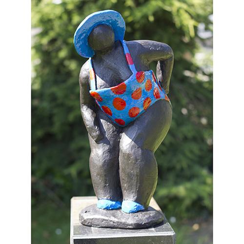 Luxe relatiegeschenken van Artihove - Sculptuur Vliet, dikke billen - NVV008026 kopen in de Artihove sculpturen shop - NVV008026
