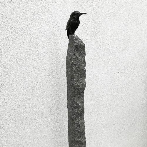 Luxe relatiegeschenken van Artihove - Geschenk Ijsvogel op obelix bron - ROBM001005 kopen van Artihove |  - ROBM001005
