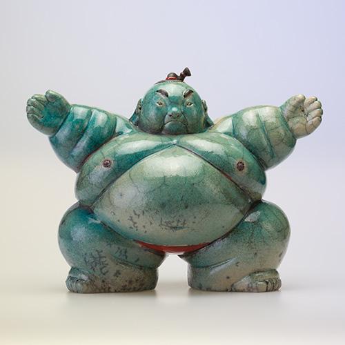 Luxe relatiegeschenken van Artihove - Geschenk Bouwman, sumo armen hoog - SBM001032 kopen van Artihove |  - SBM001032