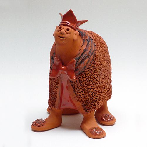 Luxe relatiegeschenken van Artihove - Geschenk Van der wel, oranje prinsesje - WELM001044 kopen van Artihove   Keramische sculpturen - WELM001044
